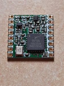Vorderseite RFM95 Modul - LORAWAN