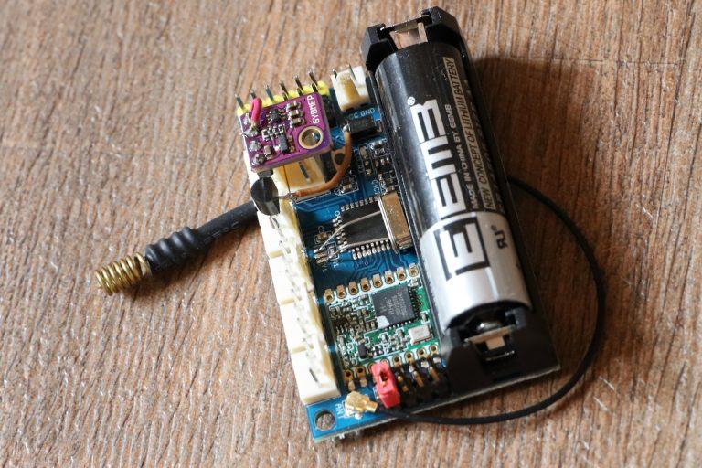 fertiges LORA Radio Node V1 mit BME280 Sensor